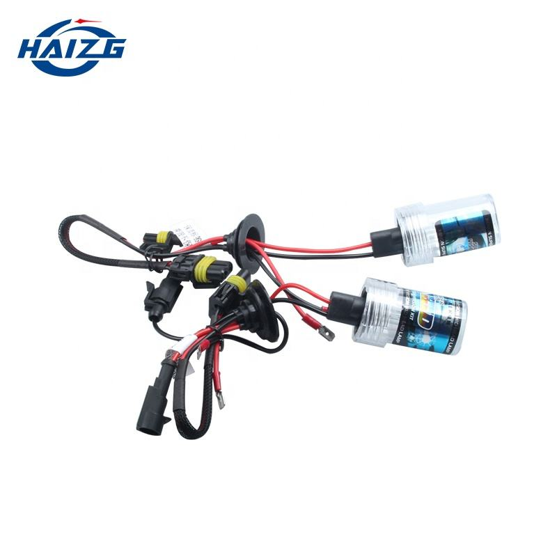 Auto Care 2 PCS High Quality H1 Xenon HID Bulb 55W 12V 4300K 6000K 8000K 10000K 12000K Free Shipping