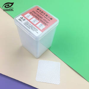 Portable Non woven fabric Wipes for Lash Extension Glue Tweezers Cleanser