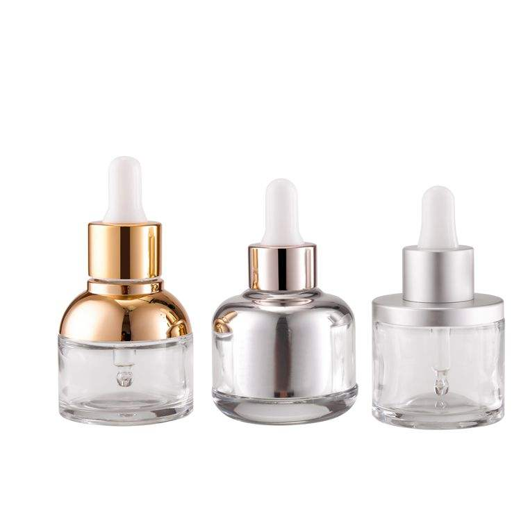 Customize Cap Nail Polish Bottles Wholesale Clear Glass Cosmetic Package Cosmetic Packaging Plastic Screen Printing Screw Cap