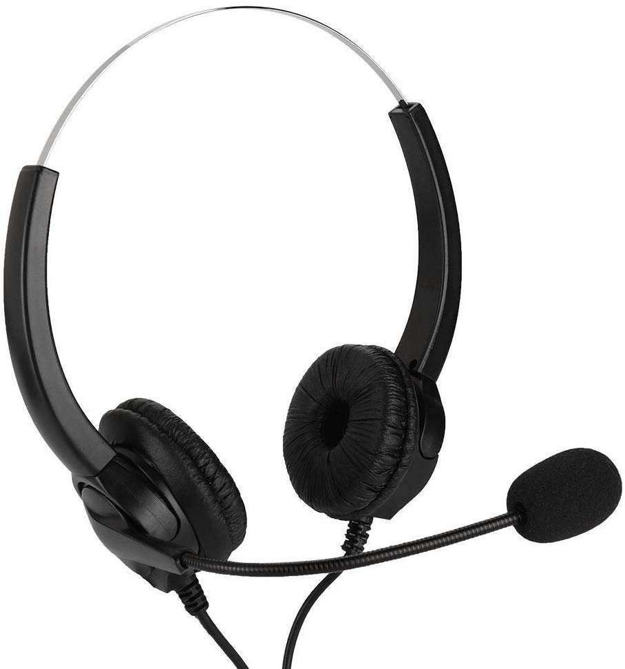 Binaural Call Center Headset <span class=keywords><strong>Voyager</strong></span> 5200 Uc Headset fone de ouvido Usb