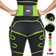 High Thigh Waist And Thigh Shaper New Custom Logo Women Slimming Weightlifting Back Support Belt High Waist Waist And Thigh Trimmer Neoprene Booty Shaper