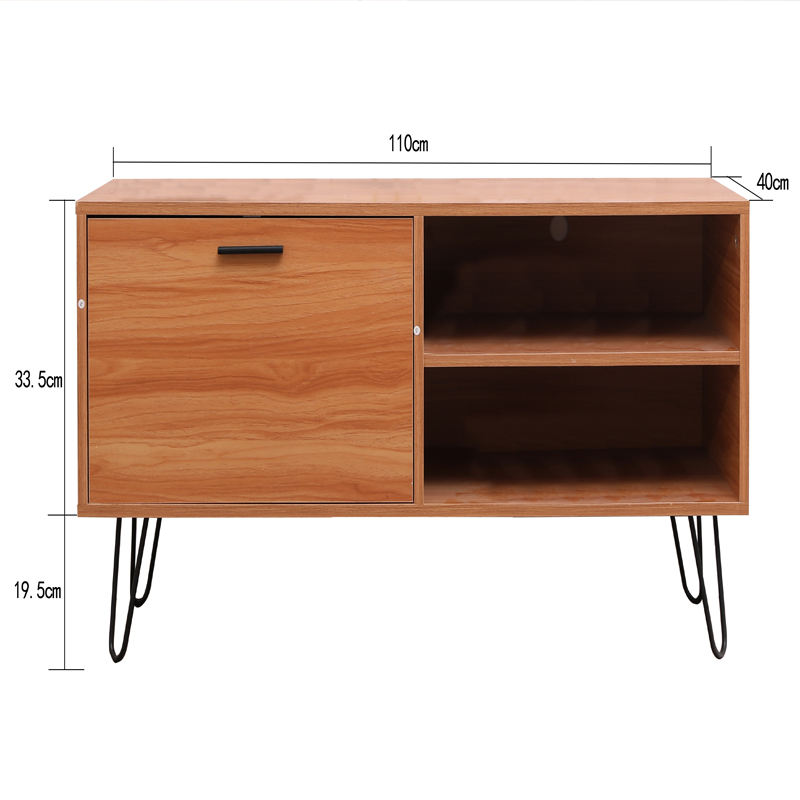 2020 Tv Stand Living Room Furniture MDF Panel Tv Cabinet Modern With Metal legs