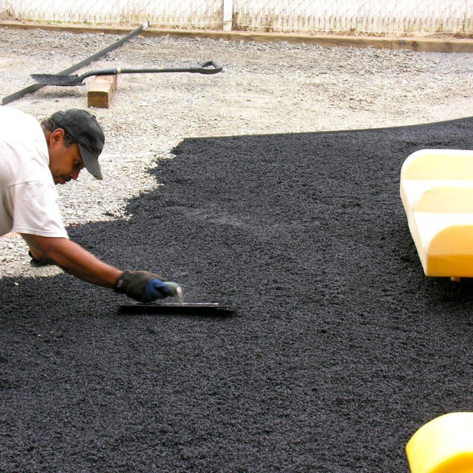 Colored sbr rubber granules/pu recycled rubber granules for running track