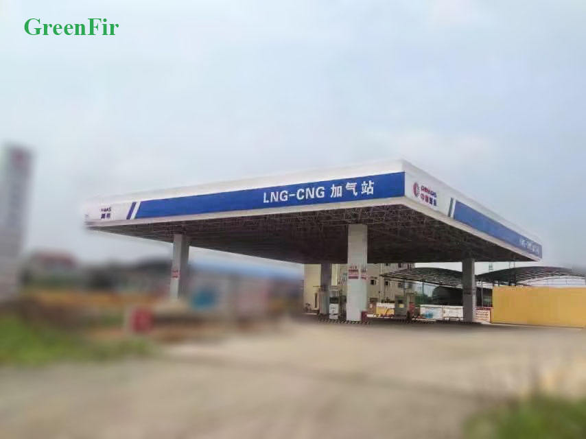GreenFir Moveable LNG/CNG/LCNG Filling Station For Car Filling