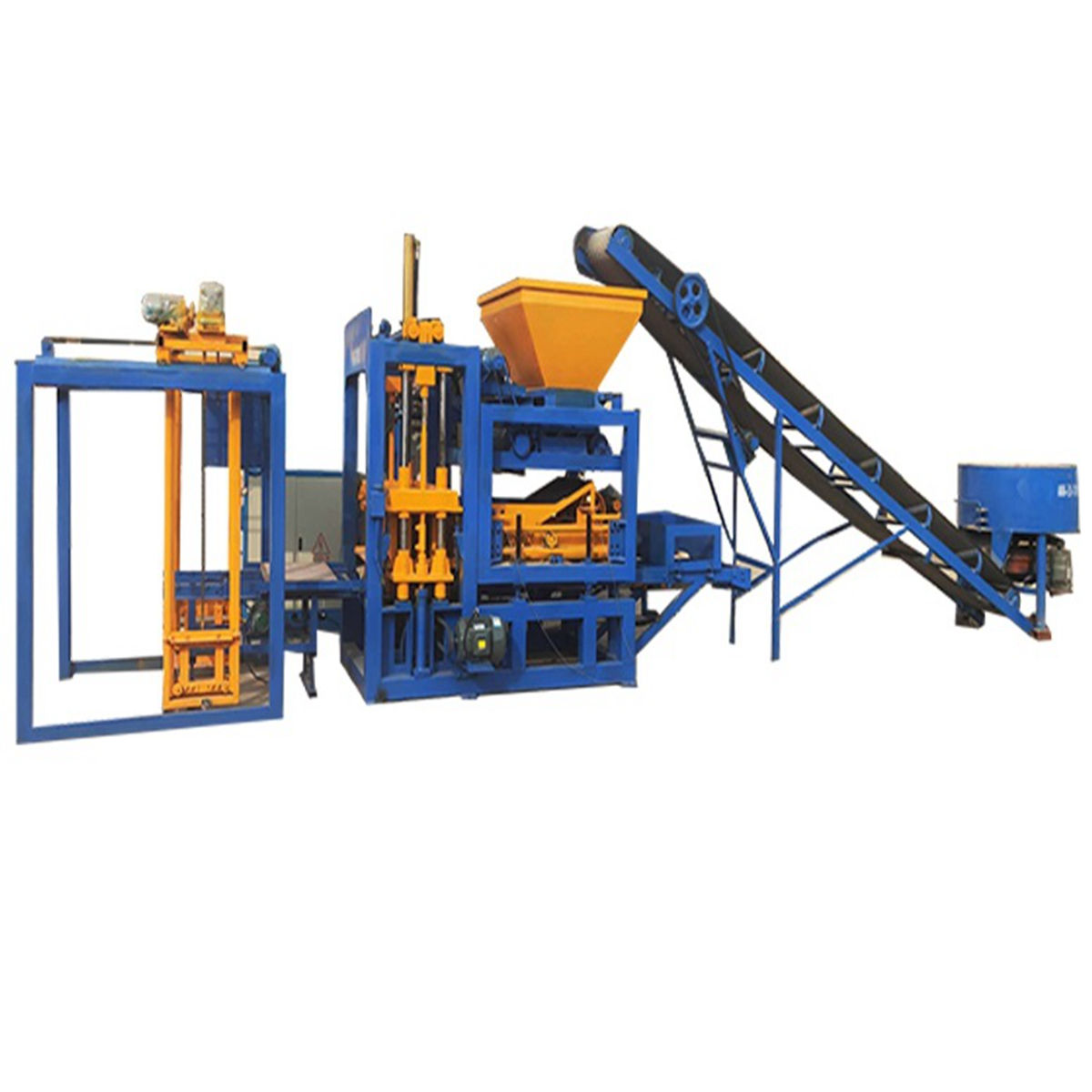 QT4-15s concrete interlocking paving brick block making machine uae