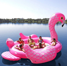 GIANT UNICORN / FLAMINGO Party Island 6 Person FLOAT