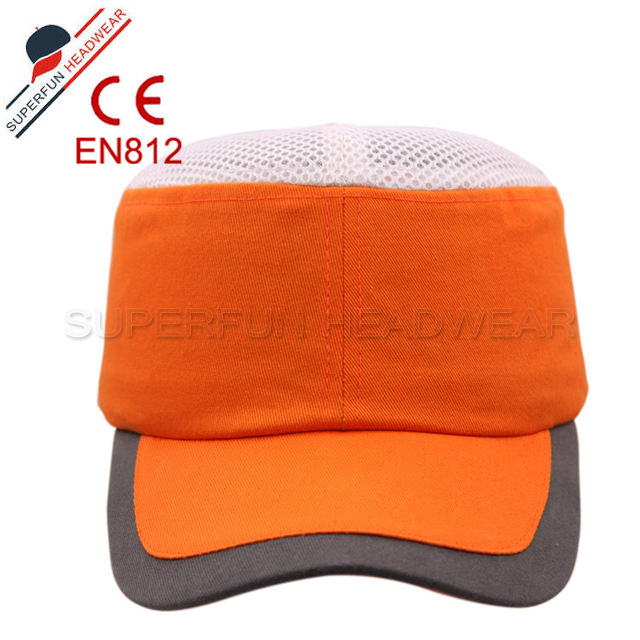 New style mesh custom safety baseball cap hard hat