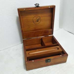 Hot Koop Houten Tabak Doos Wood Rolling Lade Stash Box Houten Stash Case