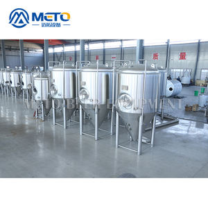Commerciale 1000l 2000l materiali craft beer brewing attrezzature con serbatoio in acciaio inox