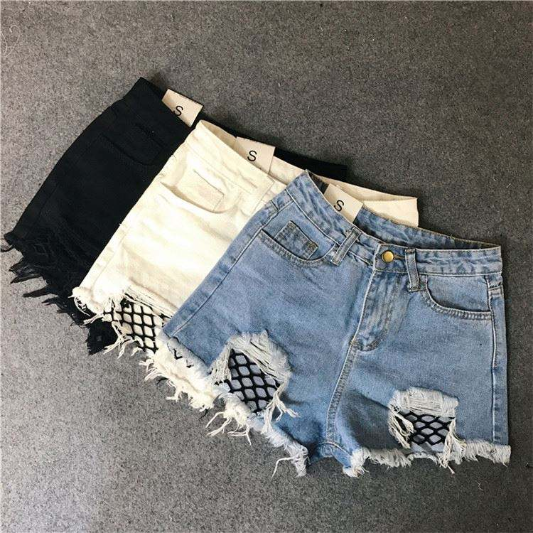 Apparel Stock Jean Non Women's Jeans Denim Short Hot Pants
