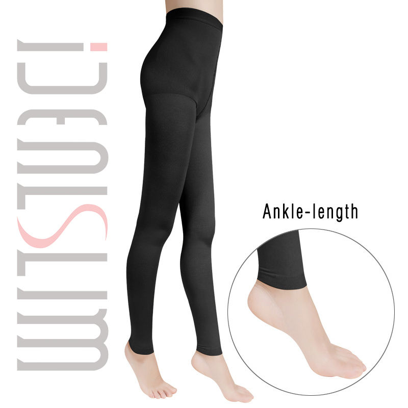 High Waist Pantyhose Black Footless Ballet Tights Fashion compression Leggings