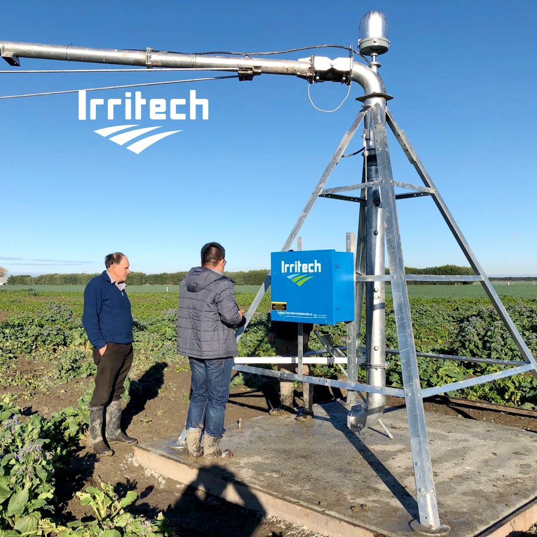 Irritech Moderne Landbouw 300M Center Pivot Irrigatiesysteem Uit China In Angola