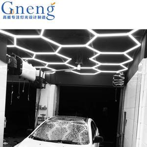 ZT/C202 car wash bay lighting led light bar work linkable car showroom lamp detailing lights
