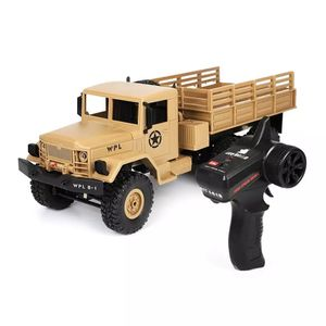 WPL B16 6WD Off Road RC Military Car Drift Upgrade KIT DIY 1:16 R/C Monster Truck Vehicle 6 Wheel Assemble Crawler B36 Ural