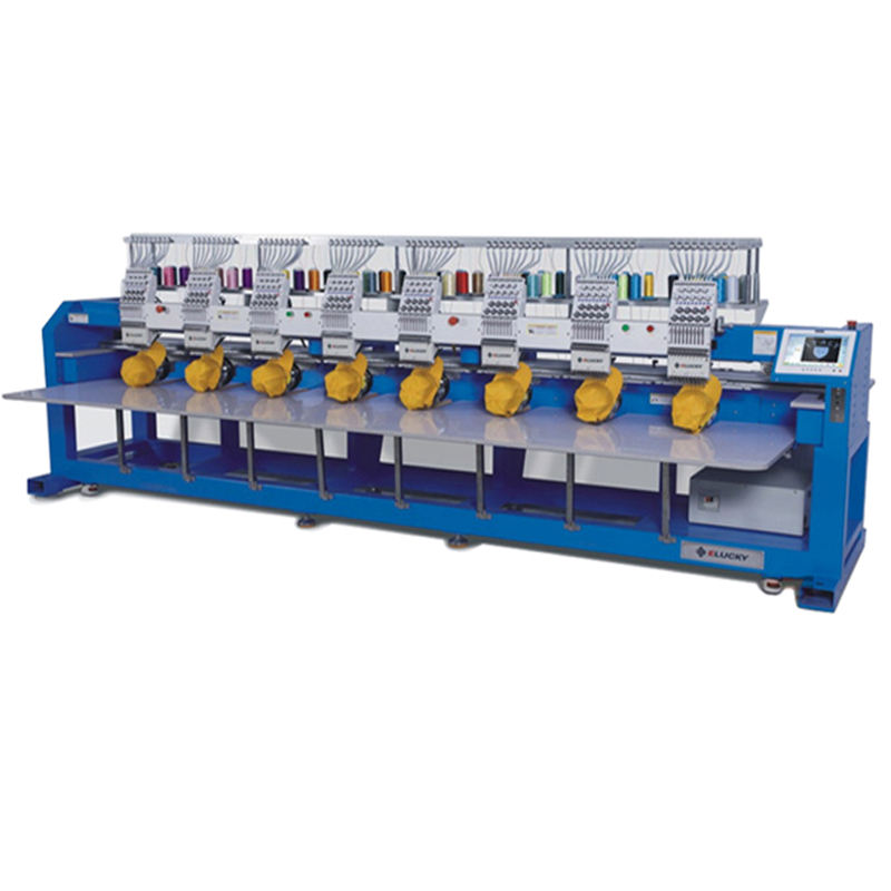 8 head computerized embroidery machine price Similar to Tajima embroidery machine