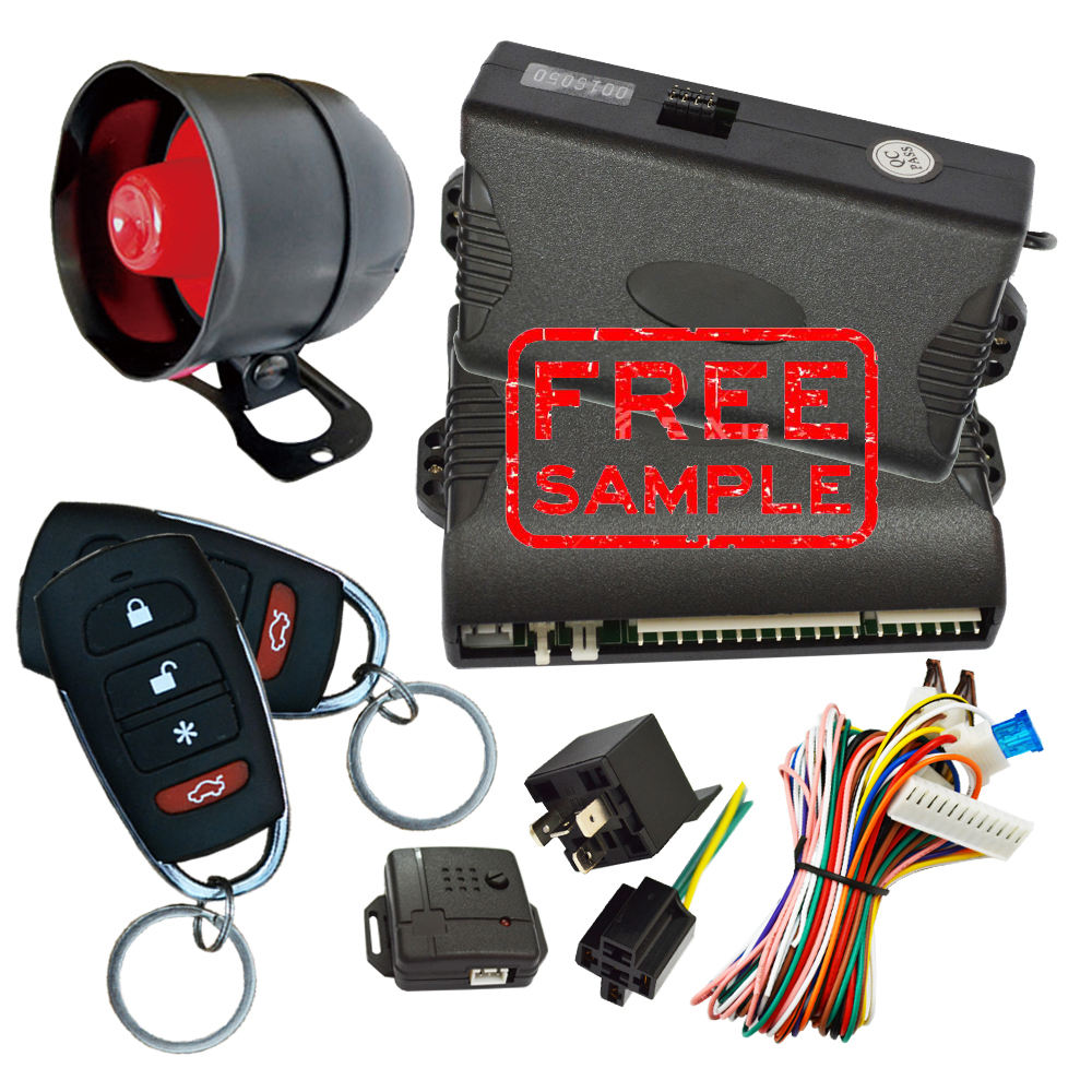 Cardot 2020 Free Sample The Biggest Promotion Universal Smart Anti-Hijacking Siren One Way Security Car Alarm