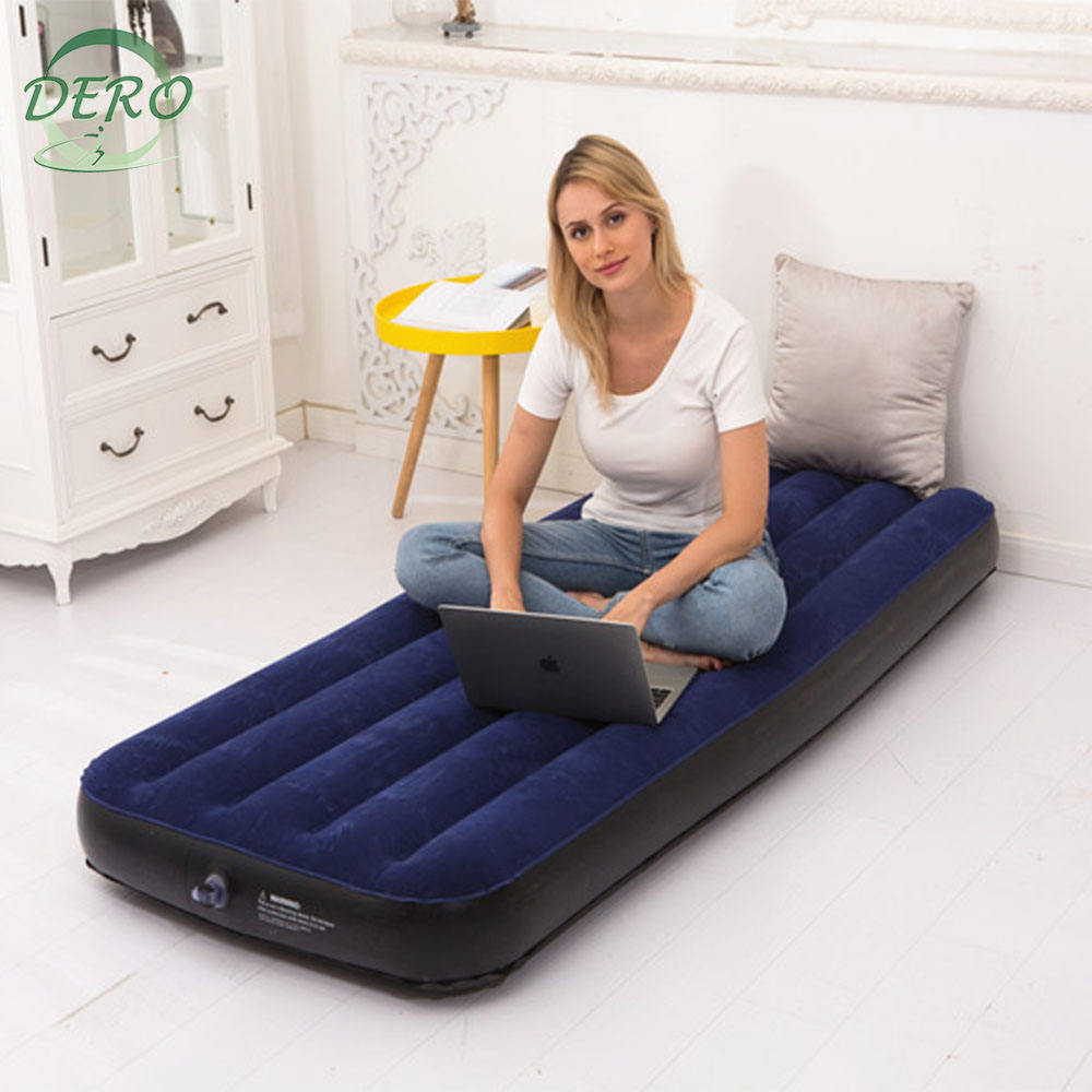 Easy unfolding and folding Inflatable lazy air bed