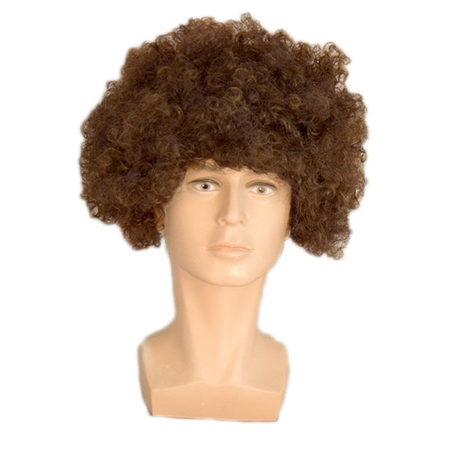 2019 hot sales Football Fans Wig Party Fancy Dress Hair Wig