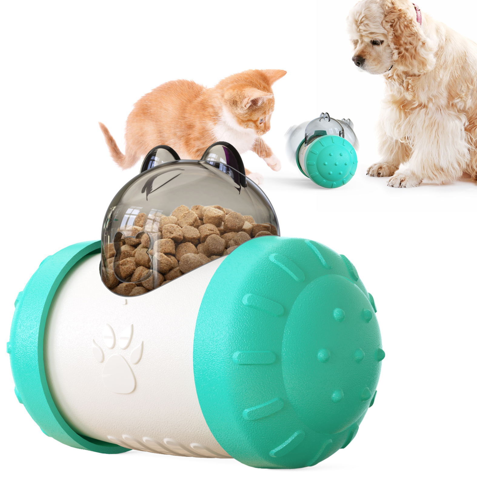 Eco-Friendly ABS Puppy Dog Christmas gift kong dog robot toy pack for pet cat playing