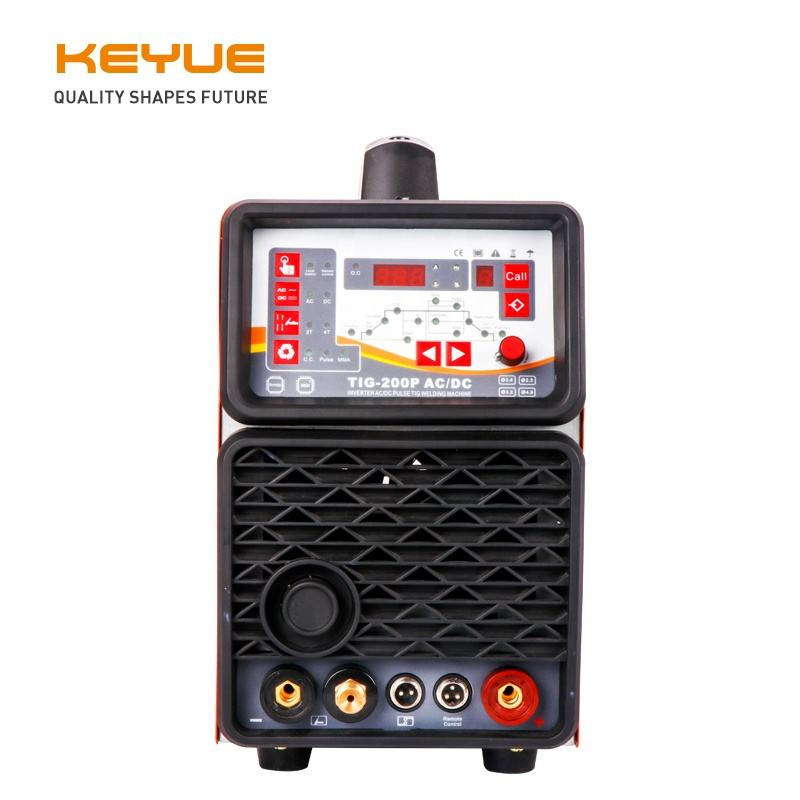 NEW design Digital IGBT argon gas ac dc tig aluminum welding machine TIG-200PACDC