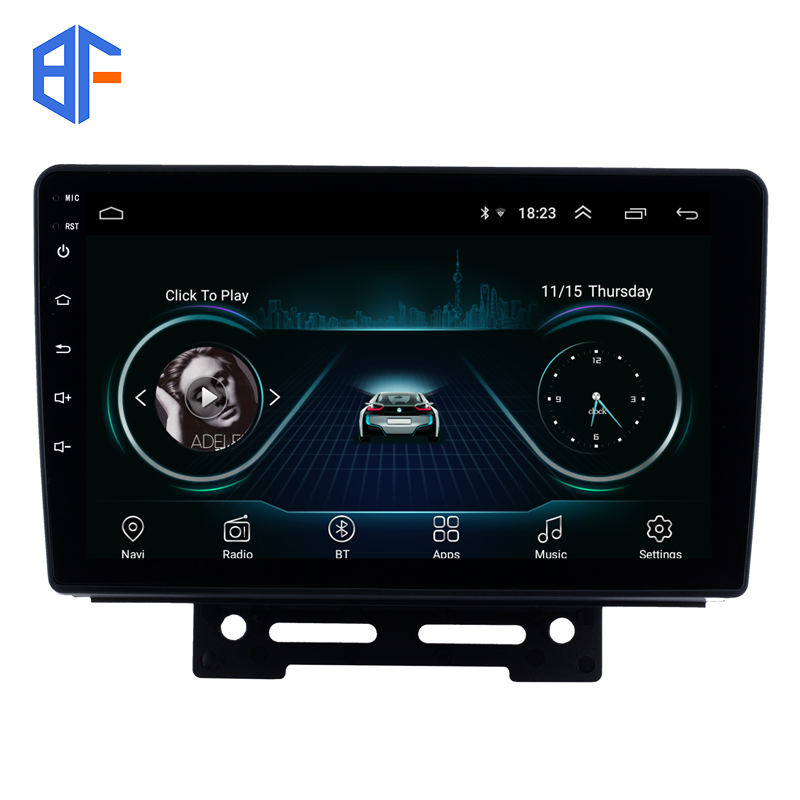 Bingfan 2.5D Android car stereo 9inch MTK8227L Car Alarms for 2012-2014 Geely Emgrand EC7