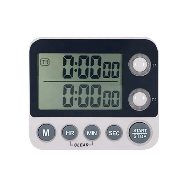 Dual Channel Count Up And Down Digital Kitchen Timer For Promotion