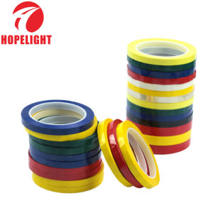 China Asia supplier acrylic adhesive pet high temperature masking tape