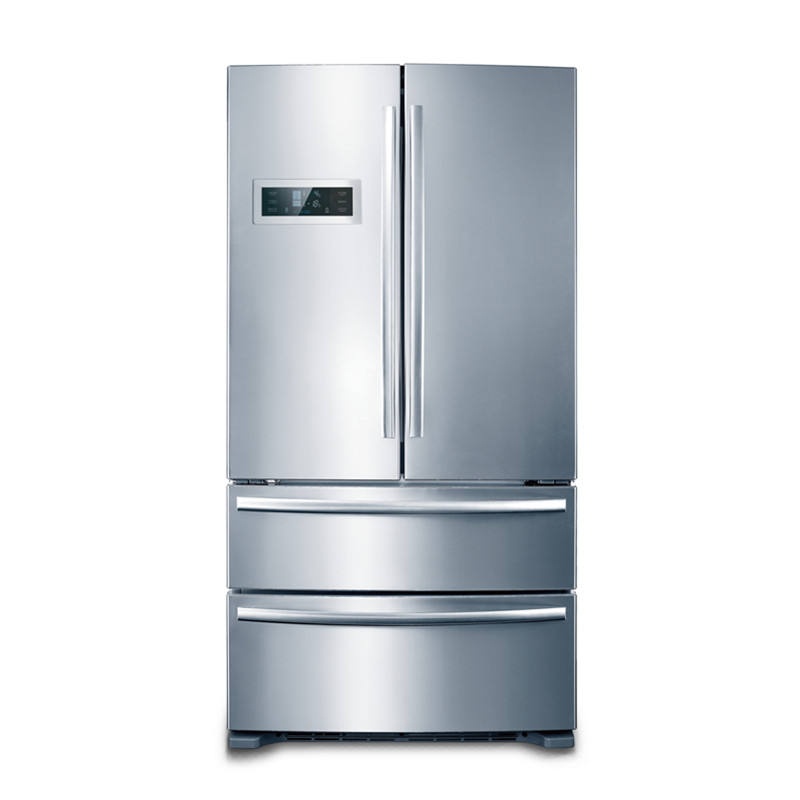 Kitchen Appliance 635L French Wide Double Door Refrigerator With Ice Maker