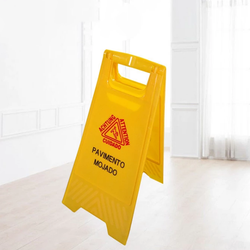 China great Weiding construction site warning sign Hotel parking spot site signage New material thickened ground warning sign
