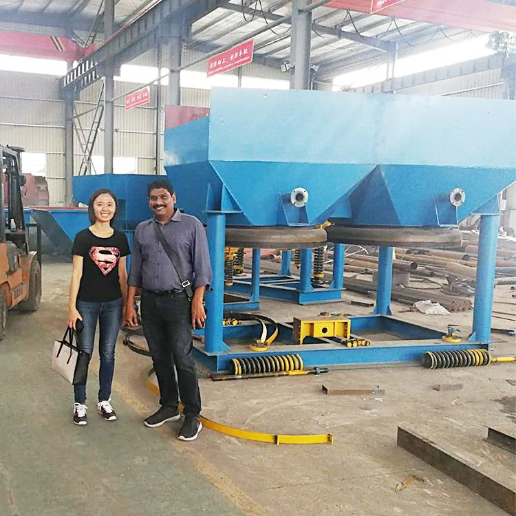 Factory Direct Sale Ore Jigging Machine for Gold Diamond Barite Tin Chrome Processing Plant