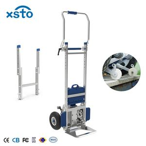 China 200kg aluminum brake Lithium-ion electric climber powered stair climbing trolley hand truck