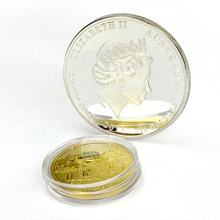 Make Your Own Cheap Custom Engraved Blank Metal Plated Silver Coin