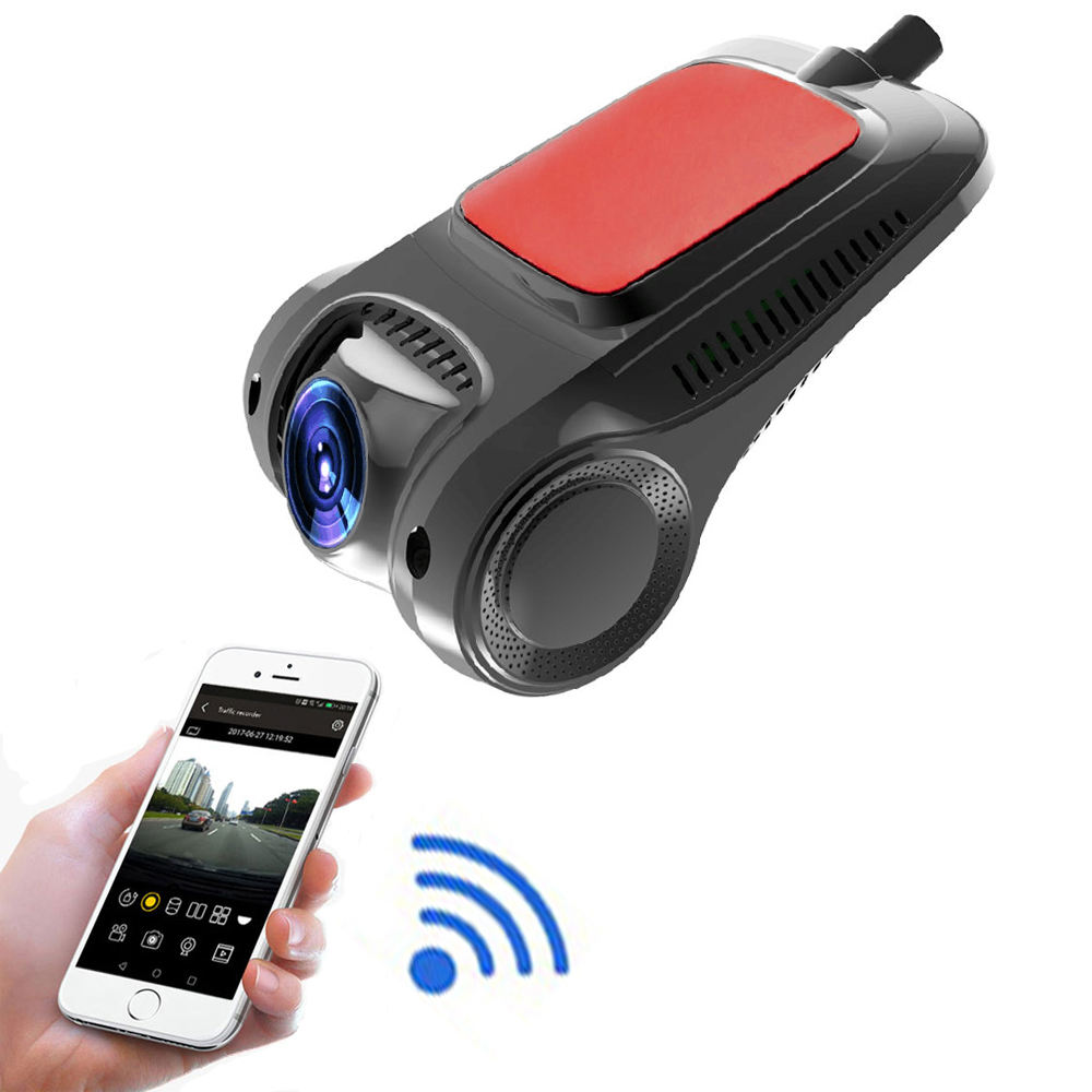 Hidden Cam Camcorder Driving Recorder DVR G-Sensor Auto Video Recorder HD 1080P Car WIFI Dash Cam with USB Connector