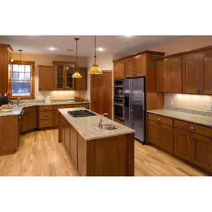 Teak Wood Kitchen Cabinets Kerala