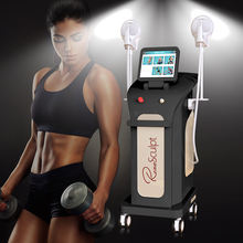 body scuplt electromagnetic muscle vibrator for legs body contouring slimming fat burning machine hi-emt technology