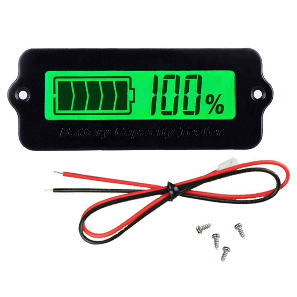 12V LY6W Lead Acid LiPo Battery Capacity Indicator LCD Display Battery Capacity Meter Power Detect Digital Tester