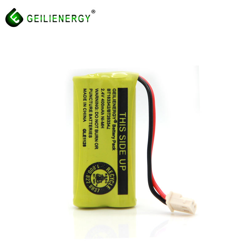 BT-183342 Cordless Phone NIMH AAA 2.4V 400mAh Rechargeable Battery Pack
