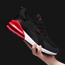 2019 Putian hebei factory 270  knitted upper air cushion men shoes and sneakers sports shoes sneakers
