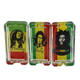 Gunter Smoking Accessories Wholesale Hot Product Jamaican Men Bob Marley Pattern 114x58x25mm Square Crystal Glass Ashtray