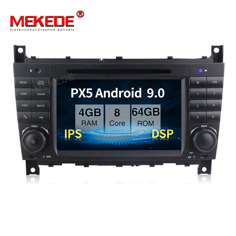 "Mekede 7"" 2DIN Android 9.0 8Core Car DVD GPS for Benz W203 W209 W219 C180 C200 C220 C230 C240 C250 CLK220 CLK240 CLK270"