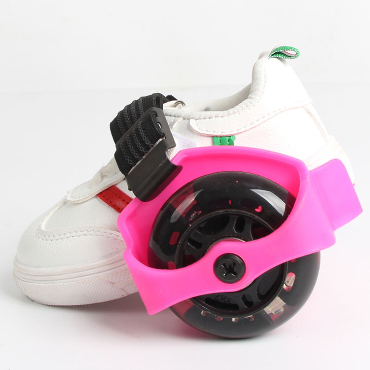 New product heel skate flashing roller shoes(CE test report)