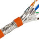 STP 4 Pairs PVC LSZH Jacket Cat7 Network Lan Cables Manufacturer