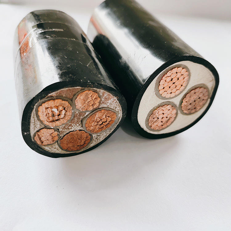JKLYJ/Q-10 10K aluminum core lightweightxlpe cable 70mm 185mm cable 4 core thin insulated aerial cable