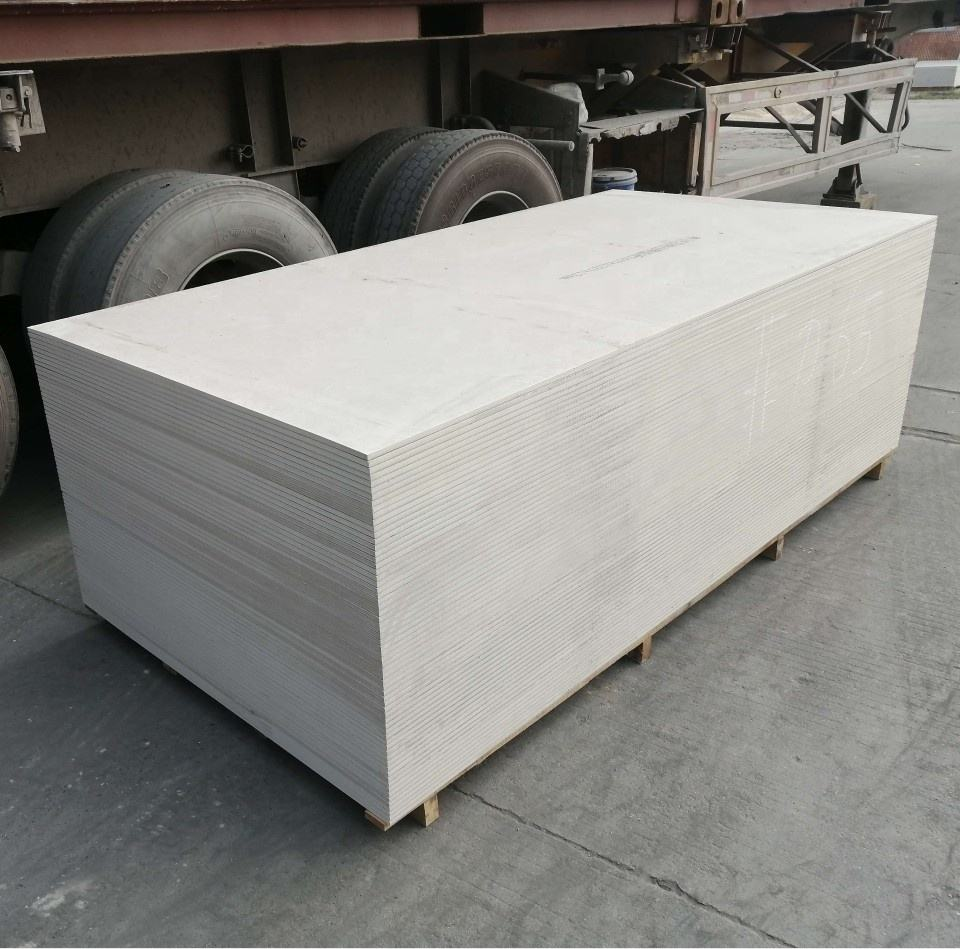 Exterior Decorative Partition color Fiber Cement Boards for Building Material
