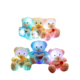 2020 Hot Colorful Glowing Teddy Bear Plush Toy Led Love Heart Teddy Bear Stuffed Animals Valentine's Day Gift