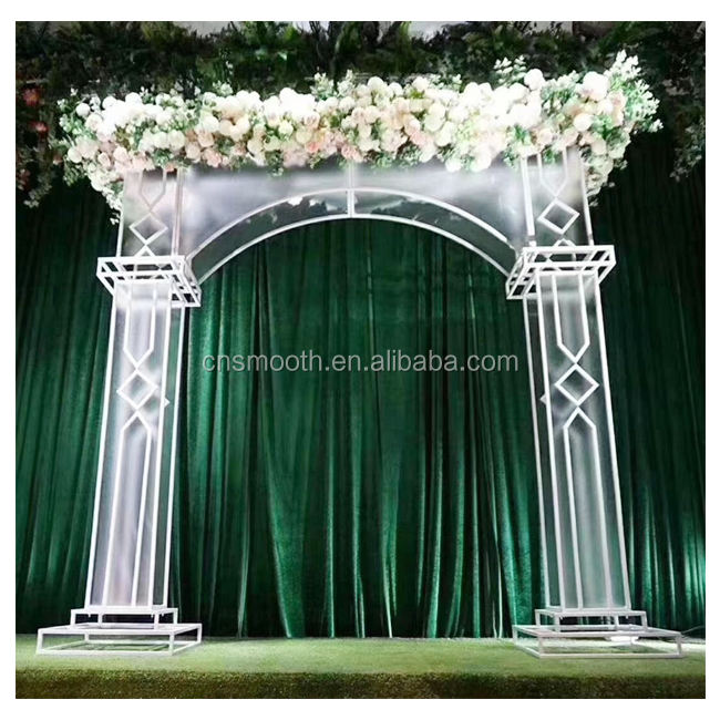 New Design Two Sides Large Arch Wedding Backdrop Decoration For Wedding
