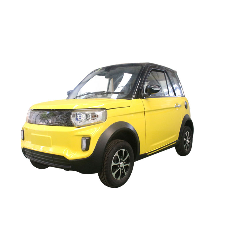 Smart Electric Car EEC Proved 4 Seats 4 Wheel Electric Mini Car Mobility with Solar System for adult