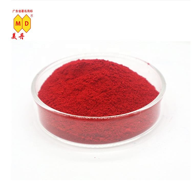 Meidan 2BSP red organic pigment powder colored pigment for paint and plastic malaysia