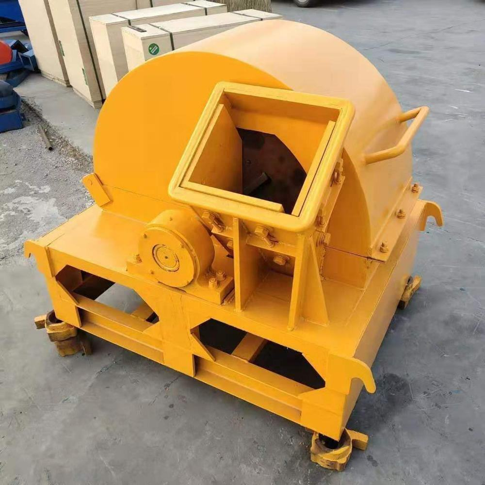 tree branches wood crusher with hammer mill