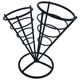 Food Grade French Fry Buffet French Fries Cone Holder With Basket Stand Factory